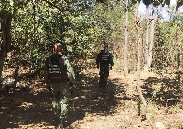 """Guardia Nacional acabó con dos más de la banda de """"El Mandarria"""" en El Sombrero"""
