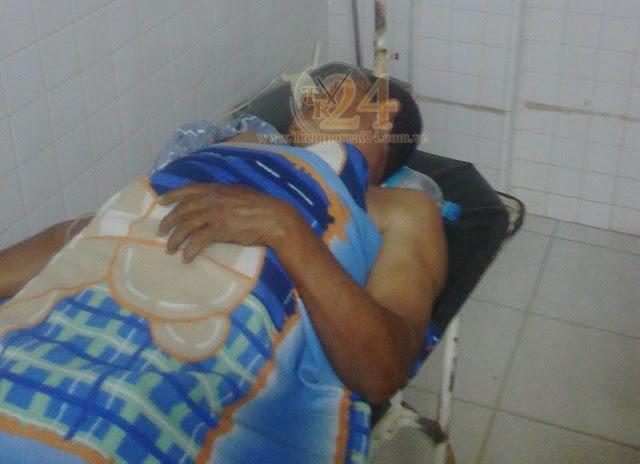 Hombre que resultó herido en atraco hace una semana murió #VDLPascua