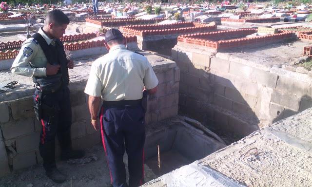 Se robaron restos humanos de tumba del cementerio #VDLPascua