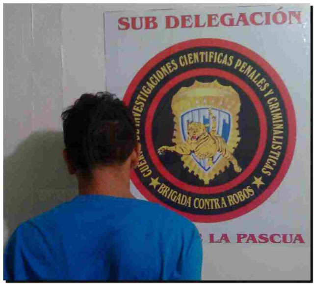 Sujeto portando facsímil fue arrestado por CICPC La Pascua