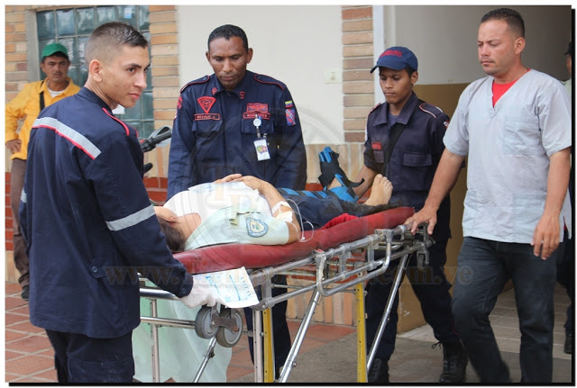 Funcionaria policial recibió tiro en su pierna #VDLPascua