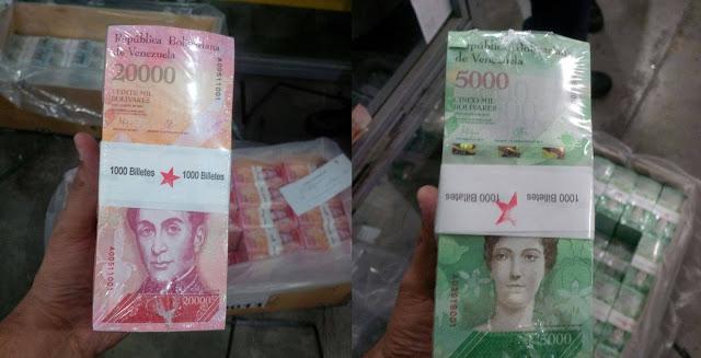Maduro anunció que los nuevos billetes entrarán en circulación el próximo lunes 16 de enero