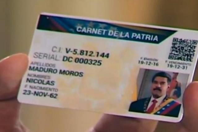 """Para Yovanny Salazar, responsable de Voluntad Popular en Guárico """"El carnet de la patria no es más que la tarjeta de racionamiento cubano"""""""