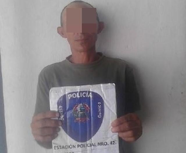 Sujeto solicitado por violación fue detenido.