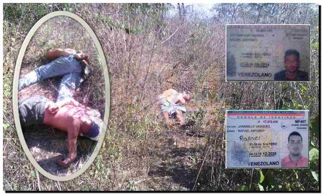 TRIPLE HOMICIDIO: Obreros de finca fueron asesinados