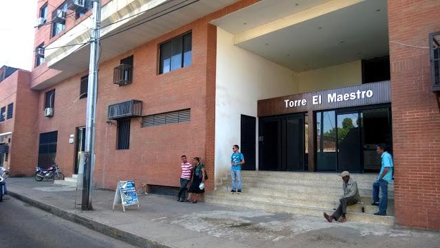 Sin luz pasillos de tribunales civil y agrario del municipio Infante estado Guárico