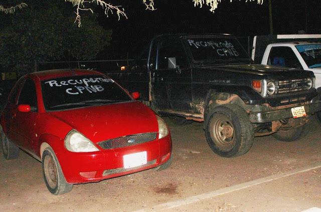 PNB arrestó a trío que tenía dos carros robados dentro de su casa #VDLPascua