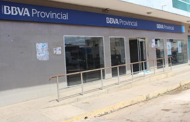 Otra entidad bancaria fue víctima del hampa #VDLPascua