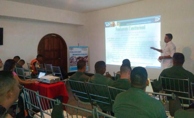 Castrenses participaron en taller sobre actas procesales