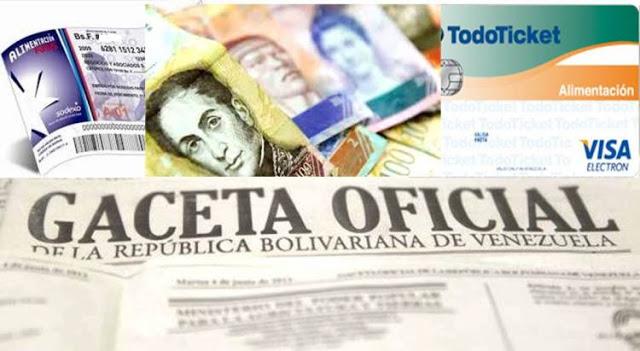 ¡TODO PÁ LAS NUBES! : Maduro anunció aumento del Cestaticket a 108 mil bolívares