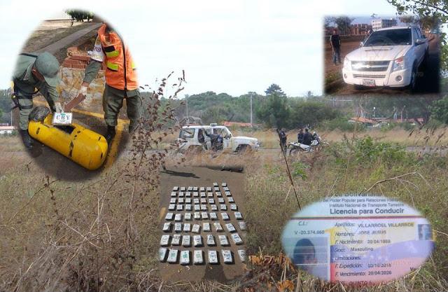 Narcotraficantes fueron neutralizados con 66 panelas de Cocaina en La Pascua y uno cayó abatido