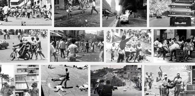 A 28 AÑOS DEL CARACAZO: Tuiteros comparan la Venezuela del Caracazo con la actual