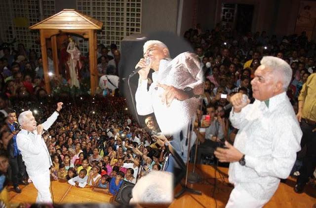 Serenata a la Virgen de La Candelaria fue un «Llenazo»