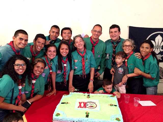 """""""Grupo Scout Los Morros"""" celebró sus primeros 20 años de fundación en la capital del Guárico"""