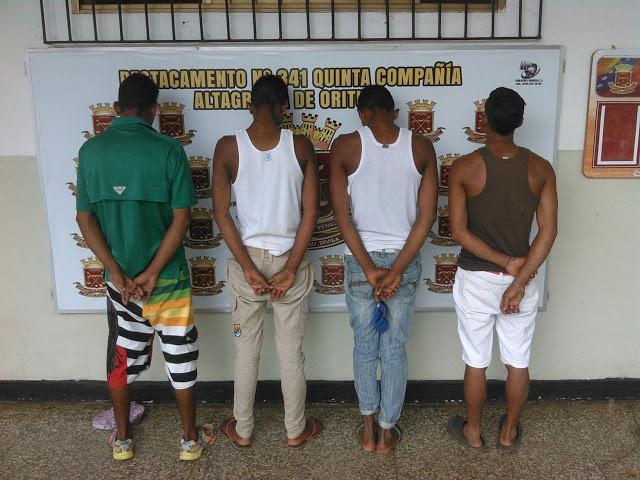 D341 desmanteló grupo dedicado al robo de viviendas