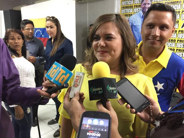 """RUMMY OLIVO: """"Seremos una gran fuerza política en el estado Guárico"""""""