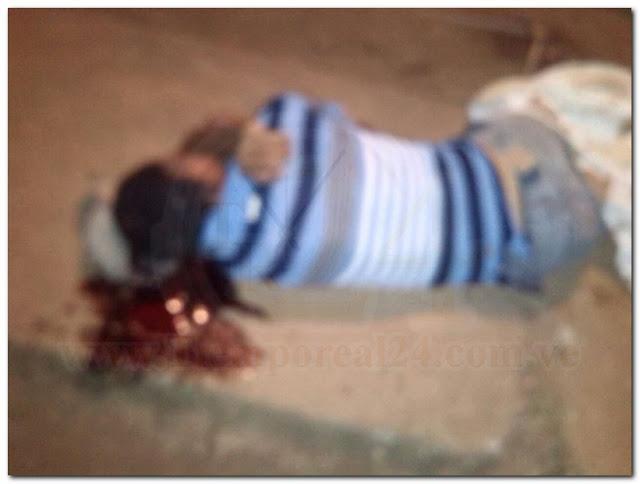 Le metieron tiros en la cabeza y acabaron con su vida
