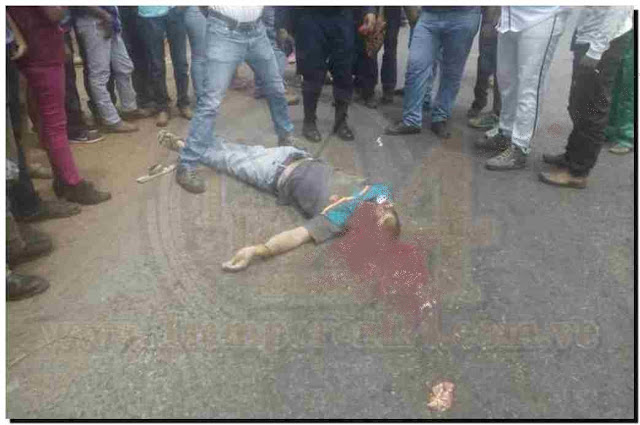 Hombre se suicidó lanzándose a las morochas de una gandola