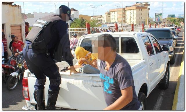 Atracadores fueron capturados huyendo con el botín #VDLPascua
