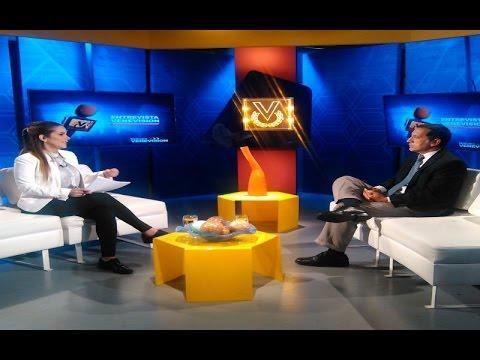 Entrevista de Venevisión al diputado José Guerra en relación a las protestas en la parroquia el Valle de Caracas.