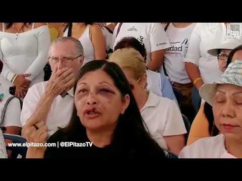 Hablan mujeres agredidas por la GN en protestas de Puerto Ordaz.