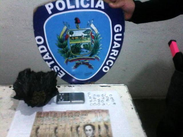 La Dirección de Inteligencia y Estrategias Preventivas capturó a un sujeto con presunta droga en la Pascua.