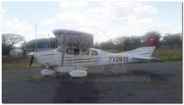 ULTIMA HORA: Hurtaron avioneta del aeropuerto de Valle de La Pascua