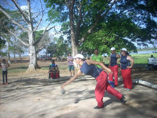 Las Bandidas ganaron torneo de bolas criollas en Parque Recreacional El Corozo