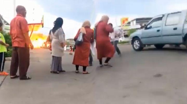 Estallan dos BOMBAS y dejan a más de 60 heridos en Tailandia en un centro comercial