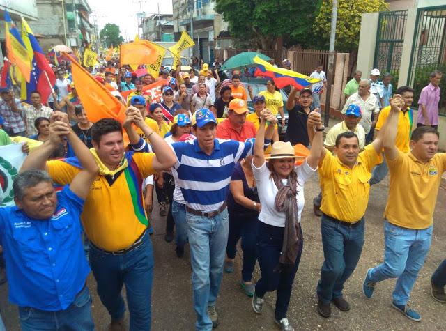 Zaraceños protestaron contra la decisión de  constituyente Comunal en Venezuela.