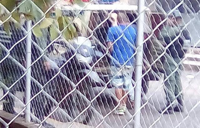 Suspenden audiencia a detenidos por la Guardia Nacional cuando presenciaban protesta en Valle de la Pascua.