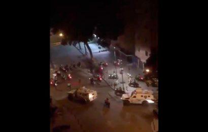 Noche de Terror en Bello Monte Caracas y redada en Altamira