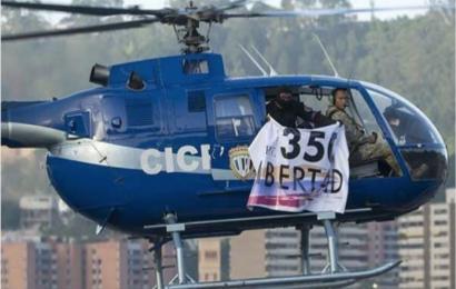 Piloto del CICPC sobrevoló y atacó al TSJ llamando al Art. 350