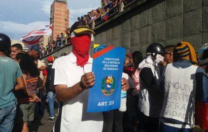 """""""La resistencia"""" pide a la MUD hacer paro cívico indefinido"""