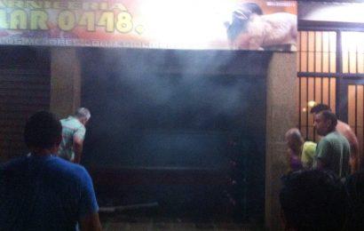 Bomberos de Infante controlaron incendio ocurrido en carnicería de La Pascua