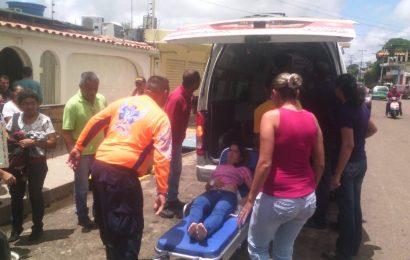 Al menos 6 heridos dejó explosión de granada en la Escuela Carlos. J. Bello (+FOTOS)