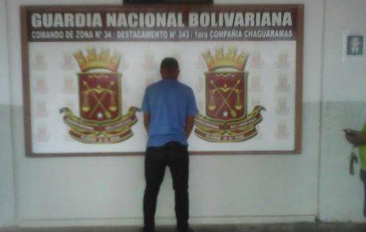 GNB capturó a dos presuntos homicidas en Chaguaramas