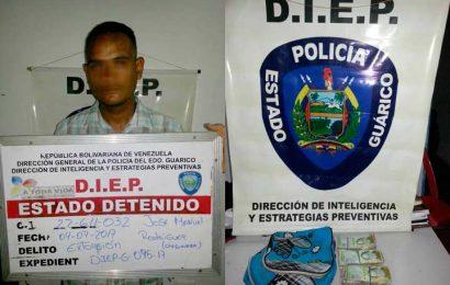 Detenidos por extorsión en San Juan de los Morros