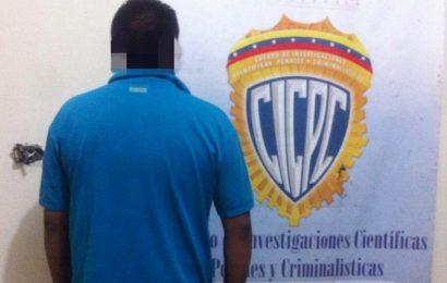 CICPC La Pascua arrestó a presunto homicida culposo