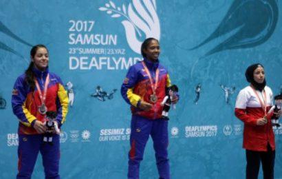 Venezuela sumó este martes cuatro medallas en Sordolímpicos 2017
