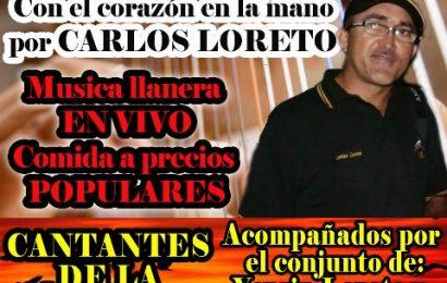 Mañana realizan II Potazo Llanero a beneficio de Carlos Loreto