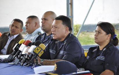 Poliguárico detuvo a más de 50 personas por diversos delitos