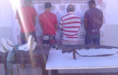 GNB le paró el trote a banda dedicada al robo de ganado