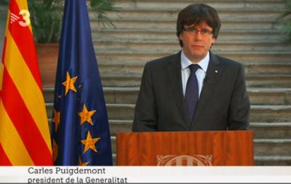 """Junta Electoral provincial prohíbe a TV3 usar """"en el exilio"""" para hacer referencia a Puigdemont"""