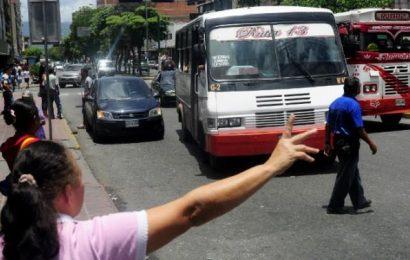 No hay tarifa oficial para el pasaje urbano