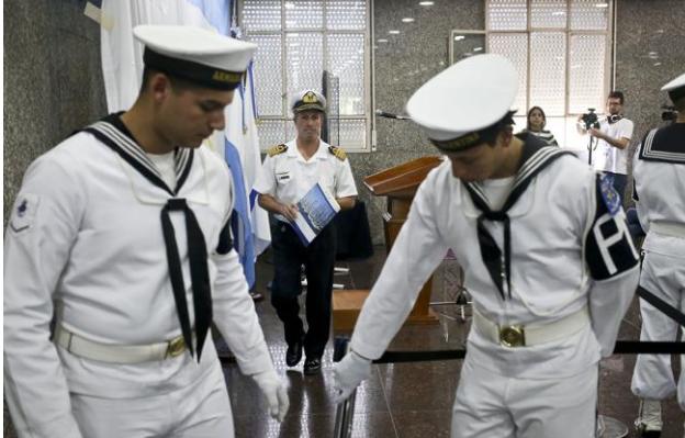 La Armada argentina suspende el rescate de los 44 tripulantes del submarino