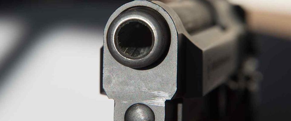 mató con arma de fuego