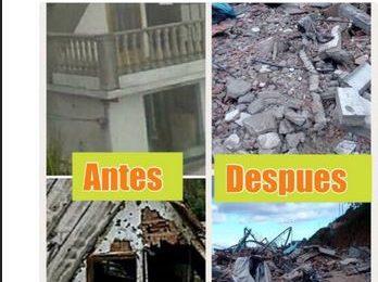 Destrozado el lugar donde murió Óscar Pérez