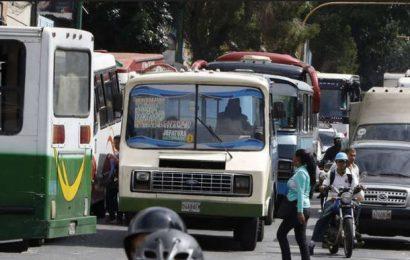 Transporte se paralizó este martes en la Capital