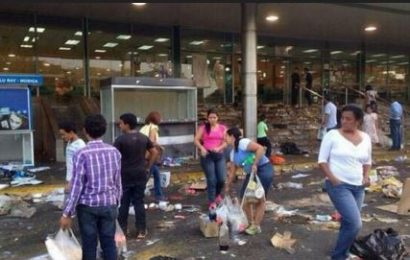 Otro camión saqueado en Barquisimeto